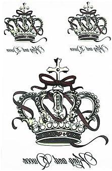 WS 8pcs clásico tótem corona de la flor de la manga del brazo ...