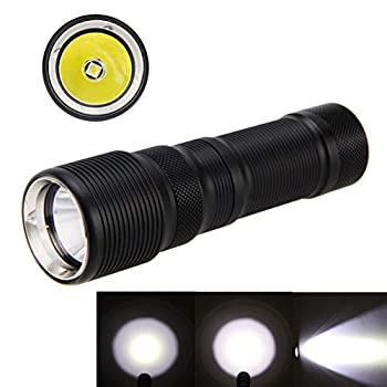 Professional Rechargeable L2 LED DF008 26650 Outdoor Lamp Diving Flashlight Torch Waterproof