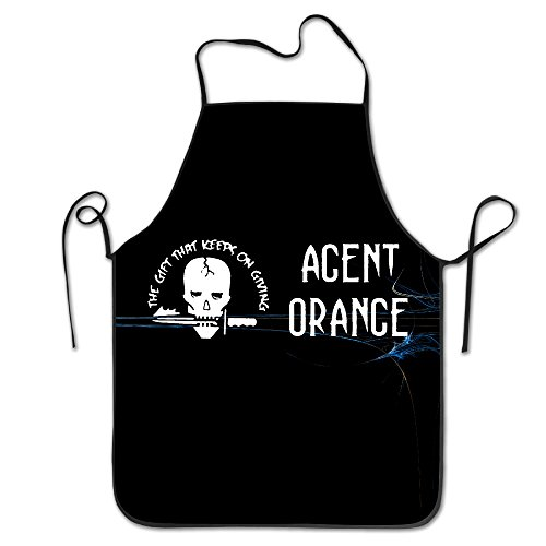 Women Personalized Aprons Home Agent Orange The Gift