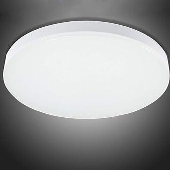 Deckenlampe LED Dimmbar,LED Deckenleuchte Farbwechsel rund Deckenlampe Bad  Wasserfest Deckenleuchte für Badezimmer Flur Küche Wohnzimmer ...