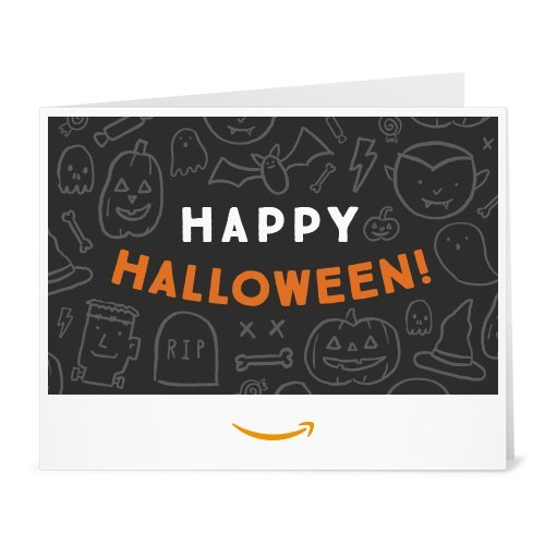 Amazon Gift Card - Print - Halloween Doodles