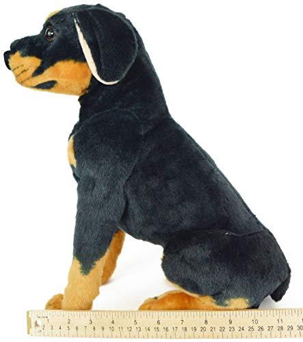 Viahart Rodolf The Rottweiler 15 Inch Large Dog Stuffed Animal