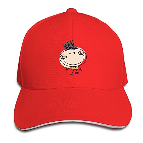 Men and Women A Cute Little Boy Cool Washed Low Profile Adjustable Baseball Cap Modern Design - Near Swim Store Me