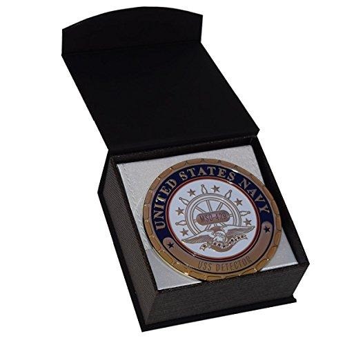 (USS Detector MSO 429 Navy Ship Plaque)
