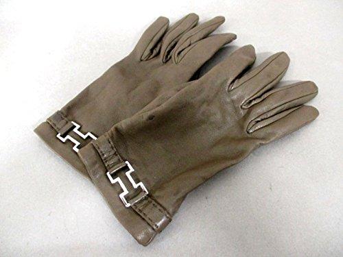 (エルメス) HERMES 手袋 ダークブラウン レディース 【中古】 B07FDBG823  -