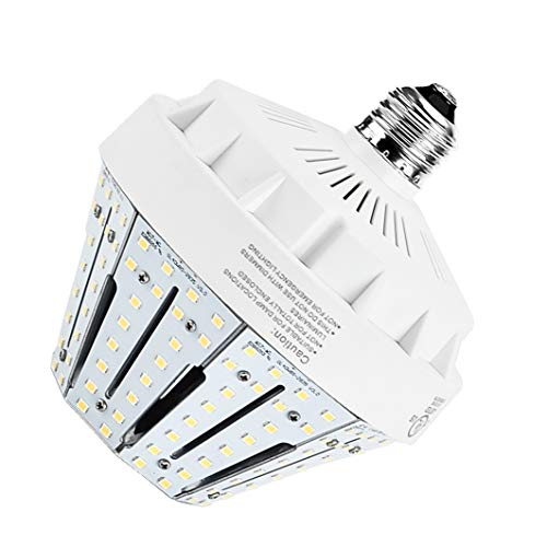 30W LED Corn Light Bulb Medium Screw Base E26 4946Lm 3000K Warm White Replacement Metal Halide HID CFL HPS for Garage Parking Lot High Bay Warehouse Street Lamp ()