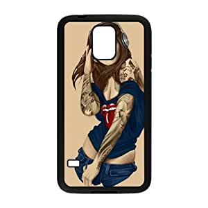 Music Girl Design Personalized Fashion High Quality Phone Case For Samsung Galaxy S5