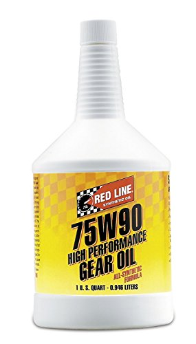 - Red Line 57904 (75W90) Synthetic Gear Oil - 1 Quart