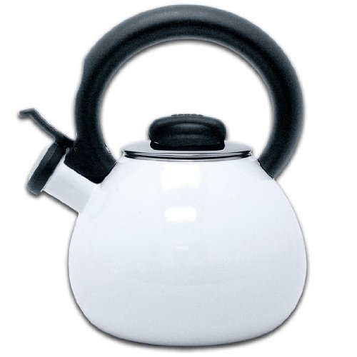 Copco 1.3 Qt Zest White Tea (White Stove Top Kettle)