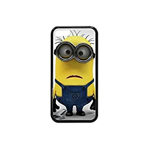 MMZ DIY PHONE CASEPlastic and TPU Yellow Despicable Minion Case Skin Cover for iphone 5/5s