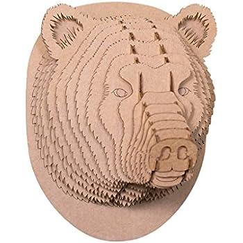 Amazon.com: Cardboard Safari Recycled Cardboard Animal Taxidermy ...