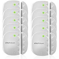 Wolf-Guard Wireless 433MHz Door Window Alarm Security ,White,10-Pack