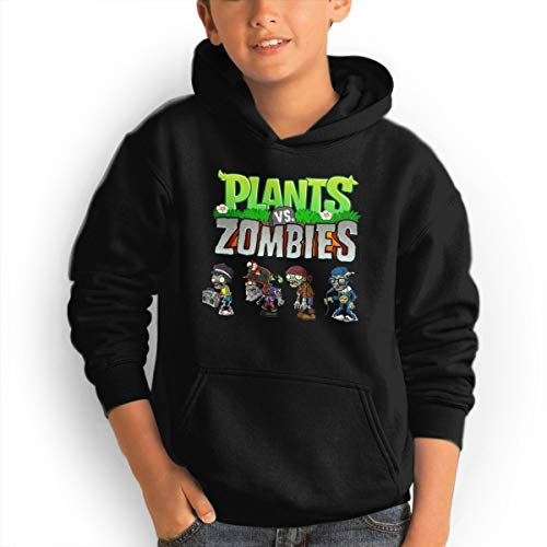 Zombie Sweater - Black Melody Plants Vs Zombies Teen