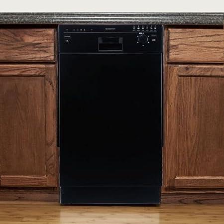 "EdgeStar BIDW1801BL 18"" Built-In Dishwasher - Black"