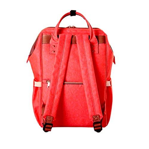 Cambiar Pañales Mochilas Bolsa de paquete doble azul Style39 Navy Style41 Red