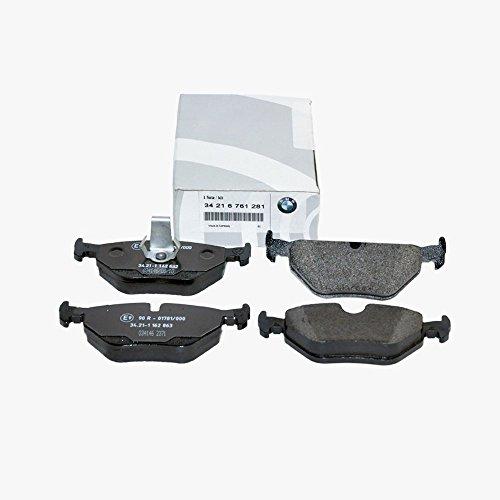 BMW Rear Brake Pads Genuine '97-'03 E39 - 528i, 525i, 530i, 540i Models 34216761281