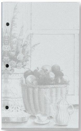 Meadowsweet Kitchens Unlined Recipe Page Refill Pack for the Treasured Family Recipe Organizer