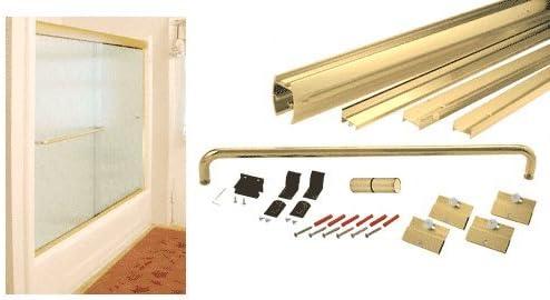 LCR Brite anodizado dorado 182,88 cm x cm 152,4 Cottage DK Series ...