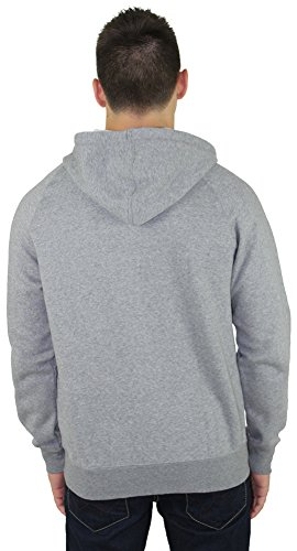 Puma Mens # 1 Logo Hoody Zip Sudadera / Sweater, gris medio Heather, peque?o