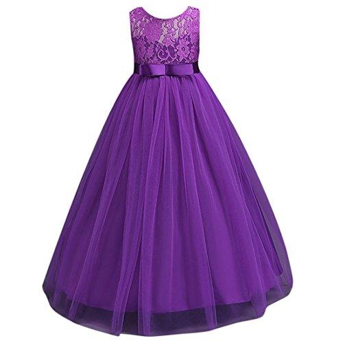 Ai Blume dchen moichien Bubble Prinzessin T Spitzenkleidbodenlange Kleid M lcK3JuT1F