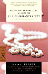 In Search of Lost Time, Vol. III: The Guermantes Way (v. 3)