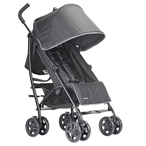 Lightweight Stroller Foldable Infant Umbrella Travel Stroller (Black)