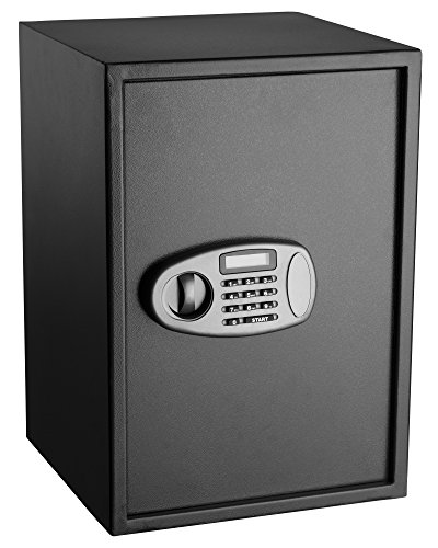 AdirOffice Security Safe with Digital Lock, Black, 2.32 Cubic Feet by AdirOffice (Image #2)