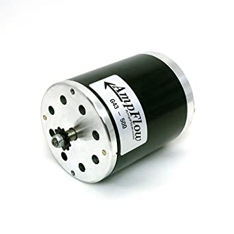 Ampflow g43 500 brushed electric motor 500w 12v 24v or for 500 rpm electric motor
