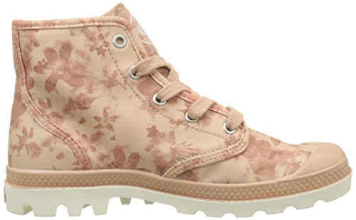 Sneakers Palladium Damen Pampa Hi Hohe Rosa (rosa Salmone / Marshmallow / Stampa Floreale)