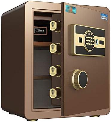 スマート指紋パスワードセーフ、小さな家庭用金庫25cm / 35cm / 45cm、オフィス目に見えない全鋼金庫