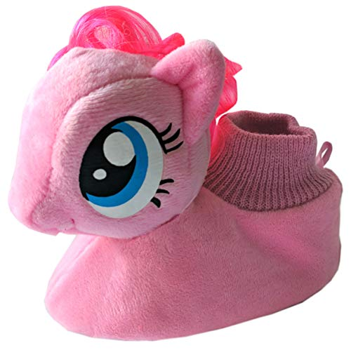 My Little Pony Little Girls Toddler Sock Top Slippers (5-6) Pink -