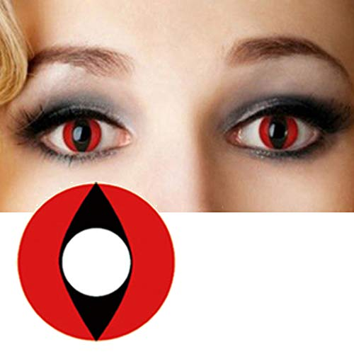 Men Women Multi-Color Colored Cute Charm and Attractive Cartoon Cosplay Contact Lenses Cosmetic Makeup Eye Shadow (Type 9) -