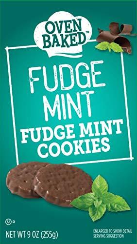 Mint Fudge Cookies Chocolate - Oven Baked Fudge Mint Cookies, 9 oz