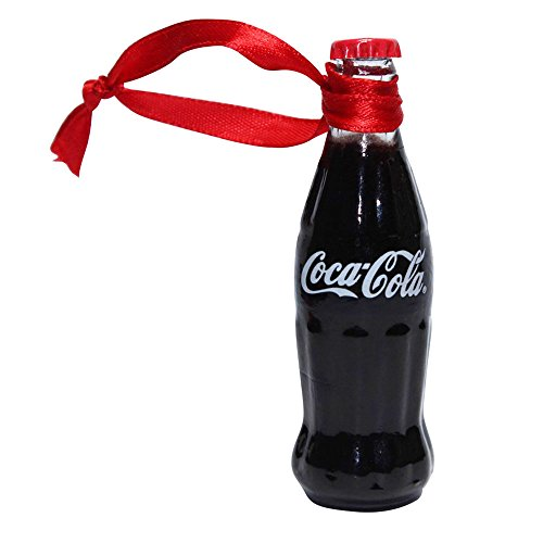 Coca-Cola Filled Mini Bottle Ornament (Mini Coca Cola Glass)