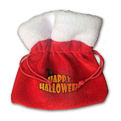 NRIEG Happy Halloween with Witch Hat Christmas Candy