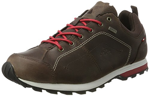 Dachstein Skywalk Uomini Prm Lc Derby Stringate Brogue Marrone Scuro / Chili