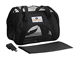 Zampa Soft Sided Kennel For Small Size Puppies Cat S Carrier With 2