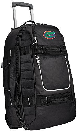 Small University of Florida Carry-On Bag Wheeled Suitcase Luggage Bags by Broad Bay