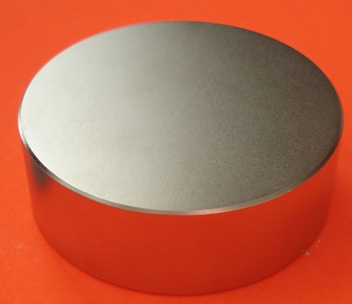Super Strong Neodymium Magnet N45 6 x 2'' Permanent Magnet Disc, The World's Strongest & Most Powerful Rare Earth Magnets by Applied Magnets by Applied Magnets