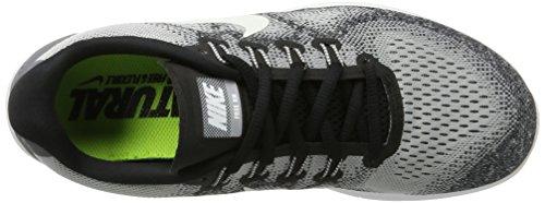 Mens Nike Grey Off Pure Platinum Shoe 9 Free Black RN White Running 2017 Wolf qq0rfAd
