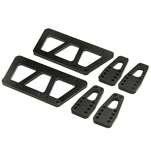 Lift Chassis (Alloy Chassis Lift Plate Set Kit for 1:10 Axial SCX10 RC Crawler Car Black)