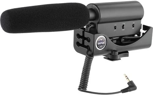 Senal CS-88 DSLR-Video Shotgun Microphone