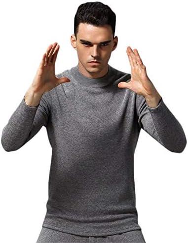 保温インナー メンズ 上下セット あったかインナー タートルネック 防寒肌着 裹ポア 厚手 シンプル