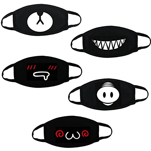 26a6b8e24a11 Xshelley 5 Pack Mouth Mask