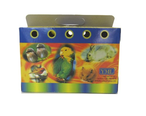 YML Cardboard Carrier for Small Animals or Birds, Large, Lot of 100 by YML