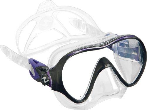 Aqua Lung Linea Single Lens Dive Mask (Twilight)