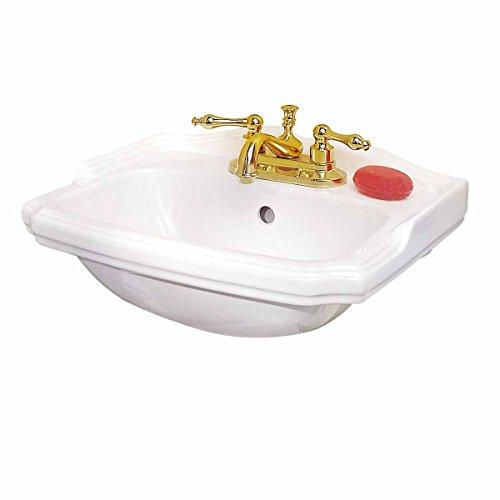 Tiny White Wall Mount Sink ...