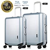 Best piece carry on luggage set - Luggage 2 Piece Set TSA Lock Lightweight Hardshell Review