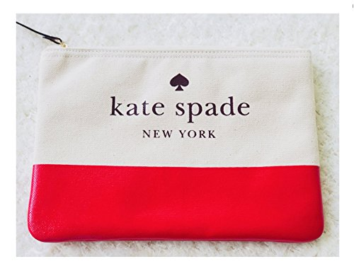Ash Street women's Pear Gia Kate Spade Prickly clutch canvas fwqnTRzR45