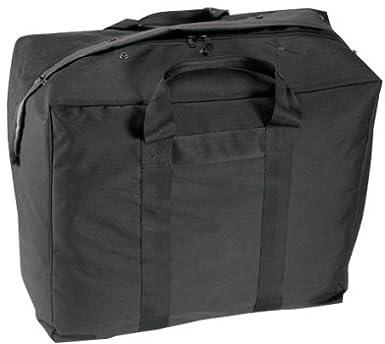 Amazon.com  Military Style GI Plus Enhanced Black Aviator Kit Bag ... 39ca6ae052